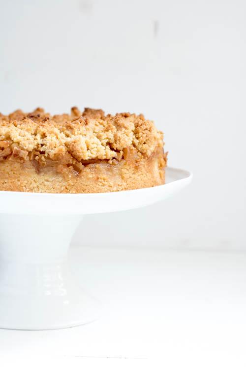 Rezept Apfelkuchen mit Streusel