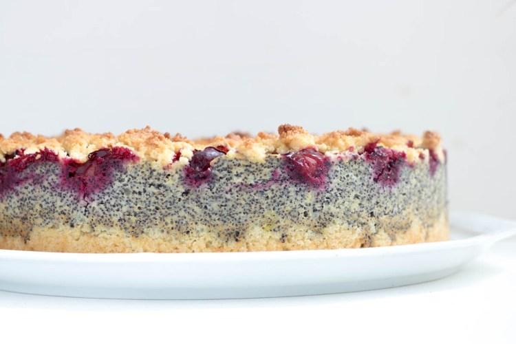 Rezept Mohn-Zwetschgen-Streuselkuchen