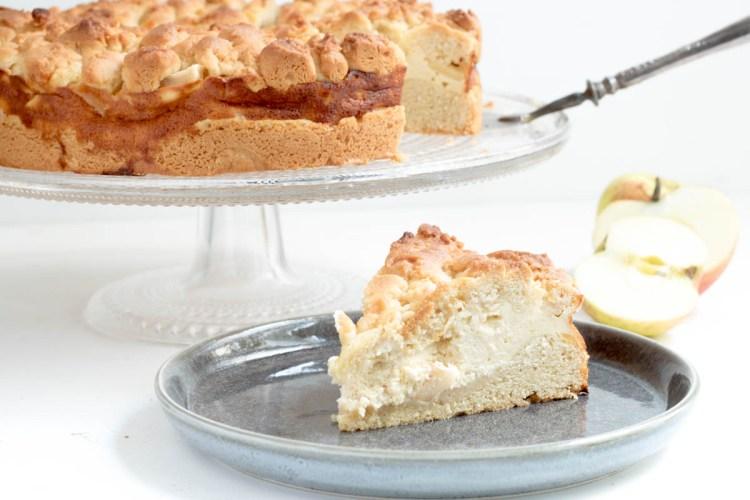 Rezept Apfel-Käse-Streuselkuchen