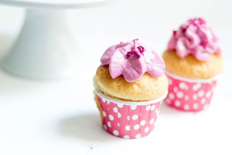 Rezept Cupcakes Himbeere Himbeer-Cupcakes