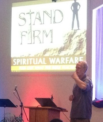 Ward Cushman Stand Firm guest speaker