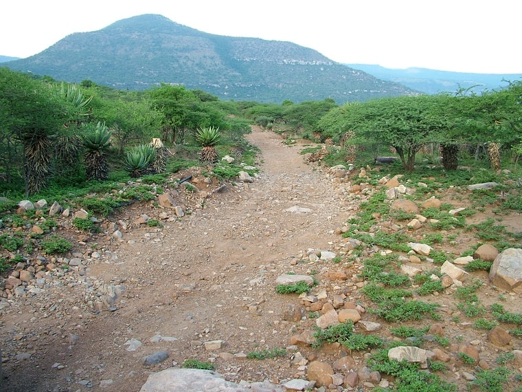 rough road - spiritual potholes