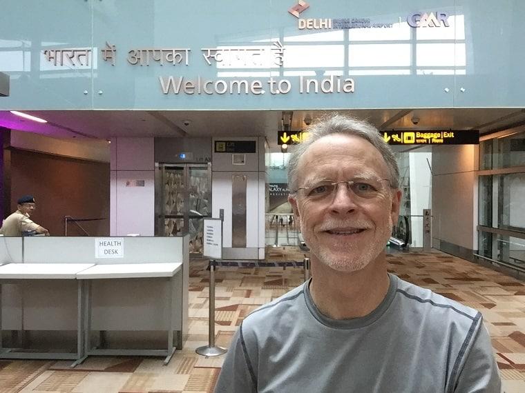 Ward Delhi Intl Airport - God is fair