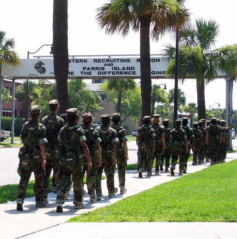 Army Basic Training - discipline