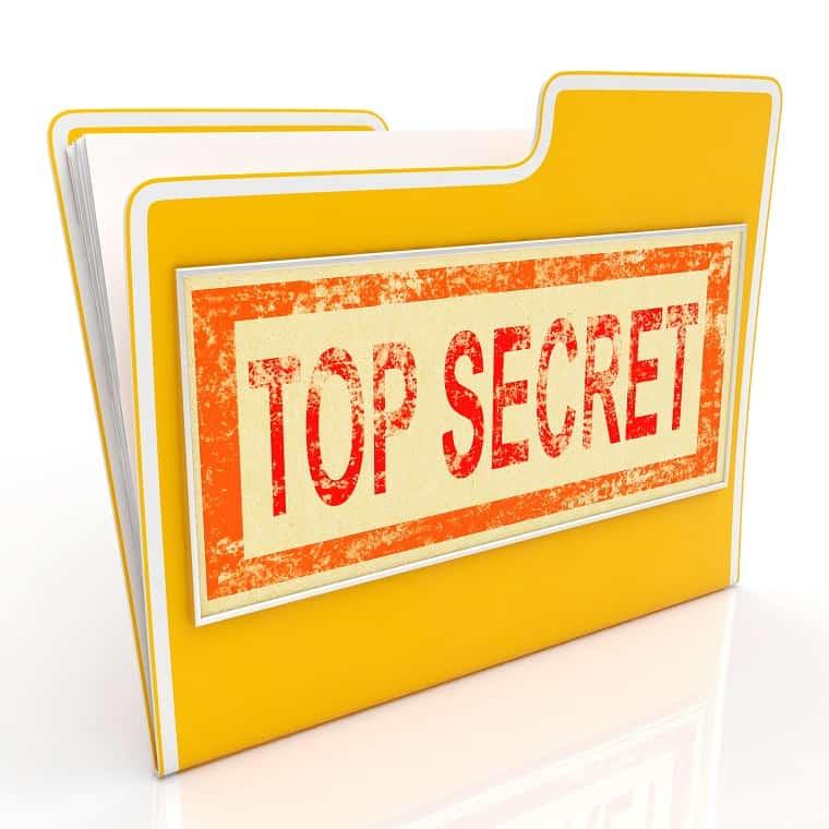Top secret file - good works