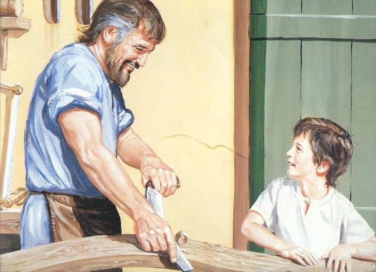 Joseph a carpenter