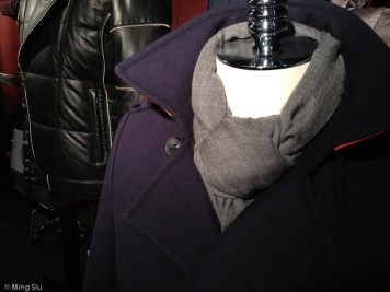 Canadian label are represented here too, Mackage outer wear