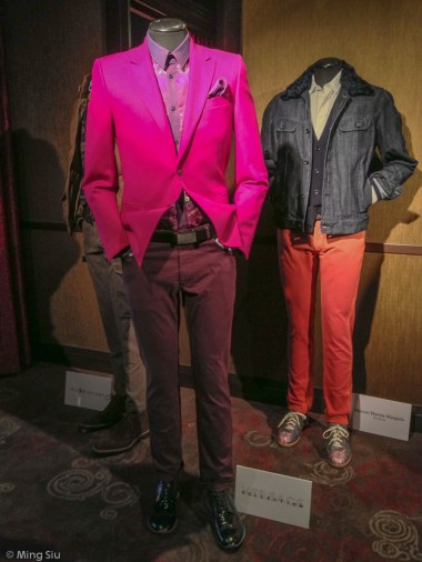 There is always room for a few signature pieces in one's wardrobe. Versace Blazer (the one in Fuchsia)