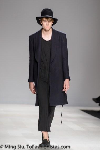 Thomas Bálint Spring 2014 collection shown at World MasterCard Fashion Week Toronto