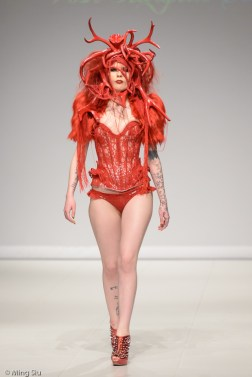 Atifice Clothing with headdresses by Posh Fairytale Couture from Germany.