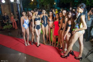 Models with Dahlia from Lavish Swimwear