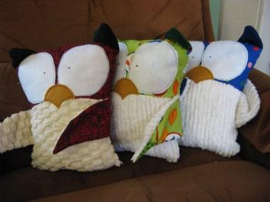 Three Wise Owls!