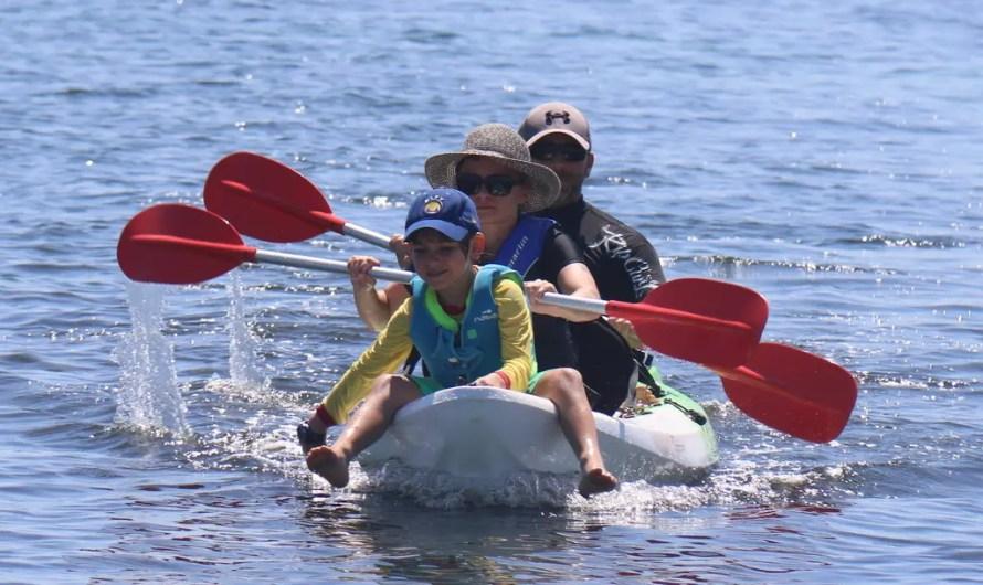 Kayak, Beach volley et Parc National