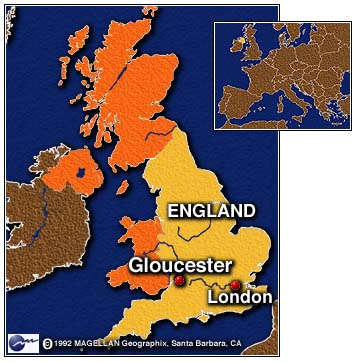 8/93 United Kingdom v. 2 8/93, this map shows Great Britain with all its many counties, districts, and regions. Cities are displayed to denote four separate categories. The map replaces the previous one by incorporating new style and data.