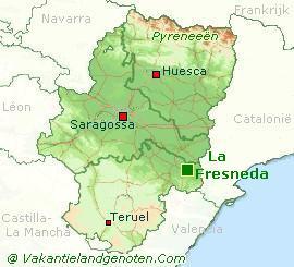 Fresneda-kaart