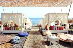 Jojo beach bar, Perivolos, Santorini 1