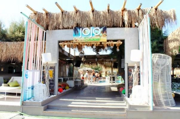 Jojo beach bar, Perivolos, Santorini 3