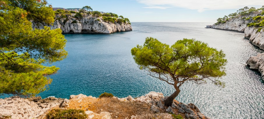 Marseille-Calanques-France