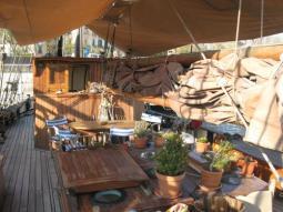 Willowmoon deck and wheelhouse