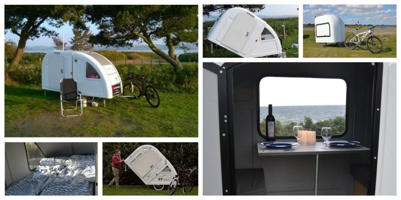 fiets camper