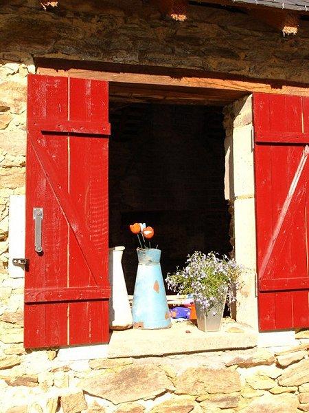 Huis te koop Frankrijk Limousin overdekt terras sfeer