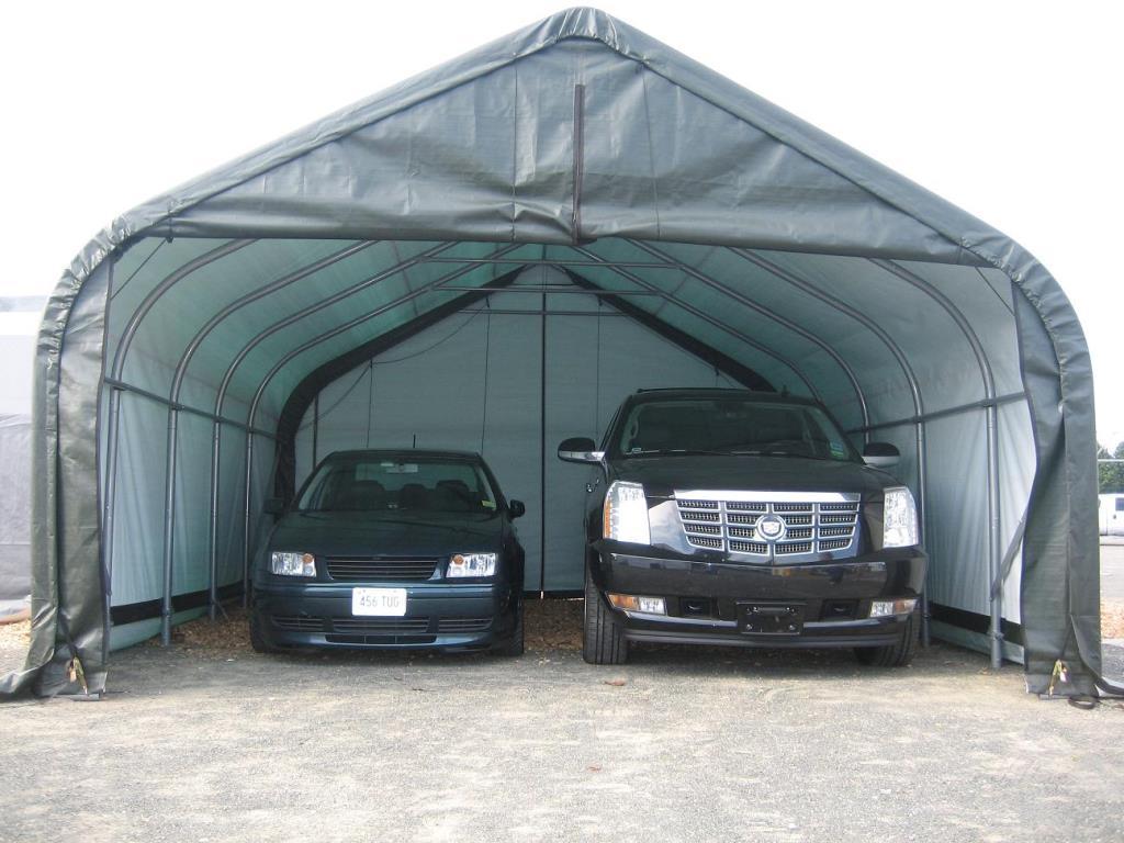 2-Car-Garage-Tent
