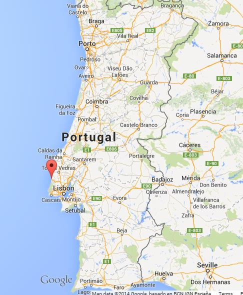 Where-is-Ericeira-on-map-of-Portugal