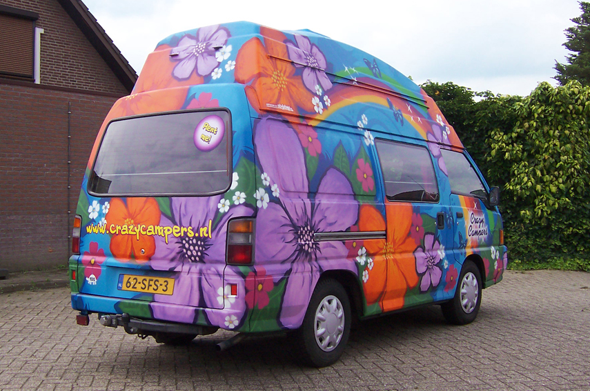 Graffiti CrazyCampers Freedom
