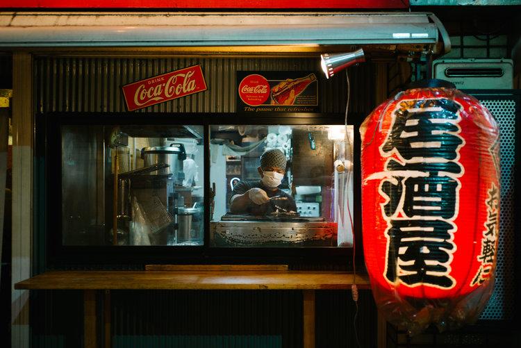(Tokyo)+Shinuku+Omoide+Yokocho+Window