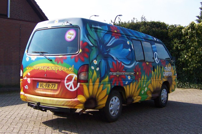 Graffiti CrazyCampers Love