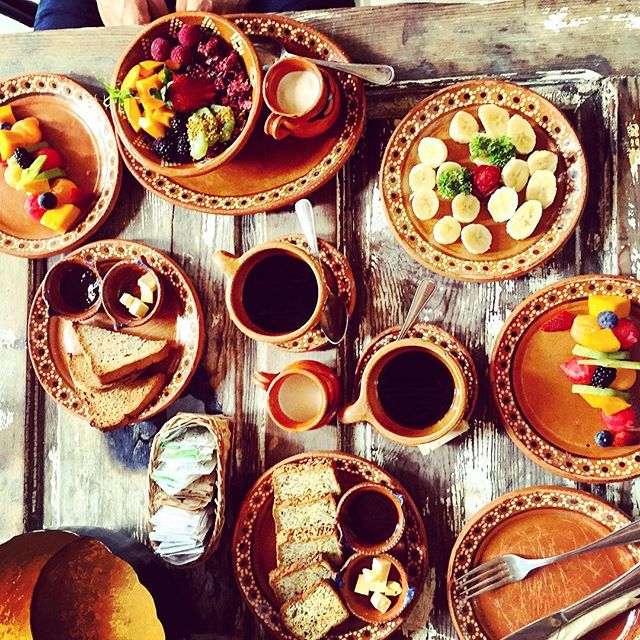 Breakfast+at+the+Nomade+Tulum,+Mexico