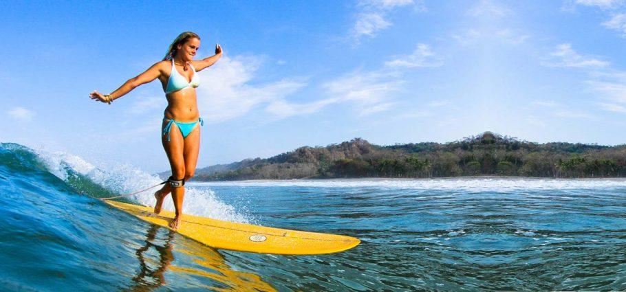 Longboard-girl-Costa-Rica-Surf-Vacations