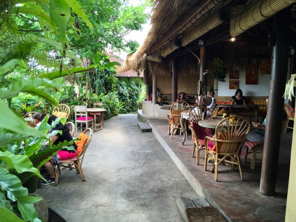 Yellow Flower cafe in Ubud