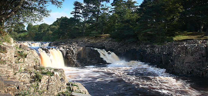 Low Force Waterfall  County Durham