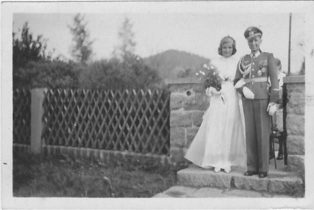 1944-05-25. Ingeborg und Wilhelm Vollmar
