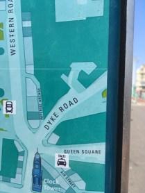 Brighton är HBTQ-centrum med både Dyke Road och Queen Square.