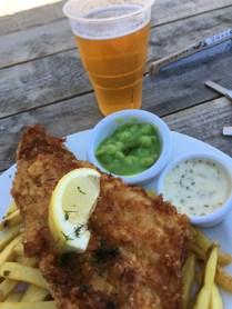 Äntligen fish 'n chips!