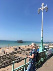 Mitt hjärta i Brighton.