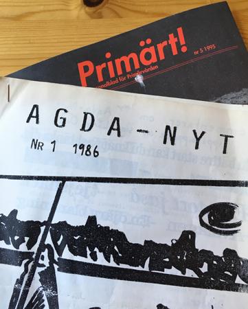 Nostalgi. Två tidskrifter jag har varit redaktör för.
