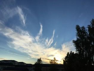 Kvällshimlen.
