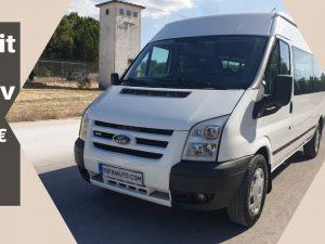 Ford Transit T330 115cv 9 Lugares de 2011