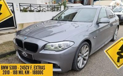Usado - BMW 530D de 2010 - 245cv - Full Extras