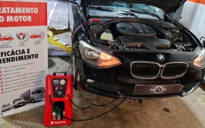 Limpeza de injetores diesel e gasolina
