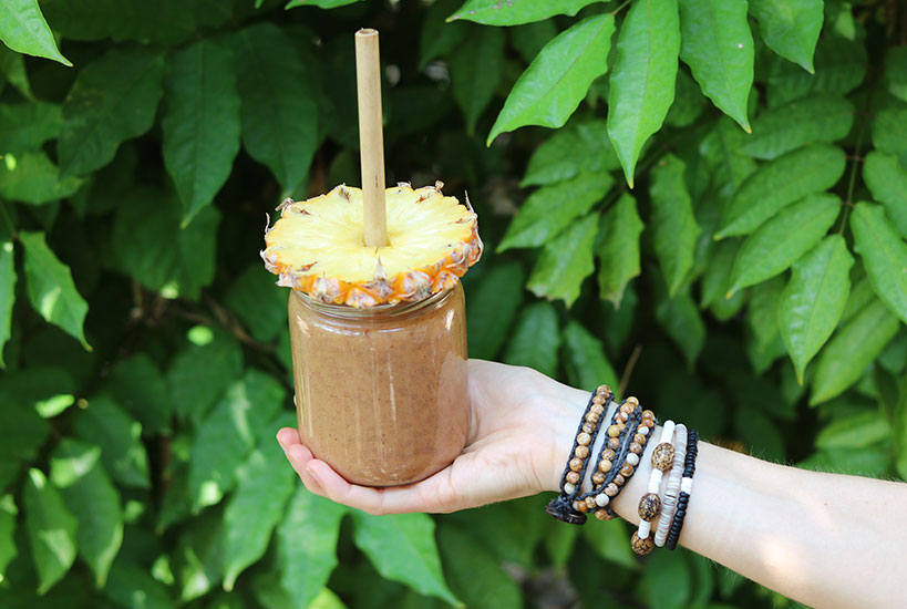 Tropical Watermelon, Mango & Pineapple Smoothie Heaven | Tofobo Family