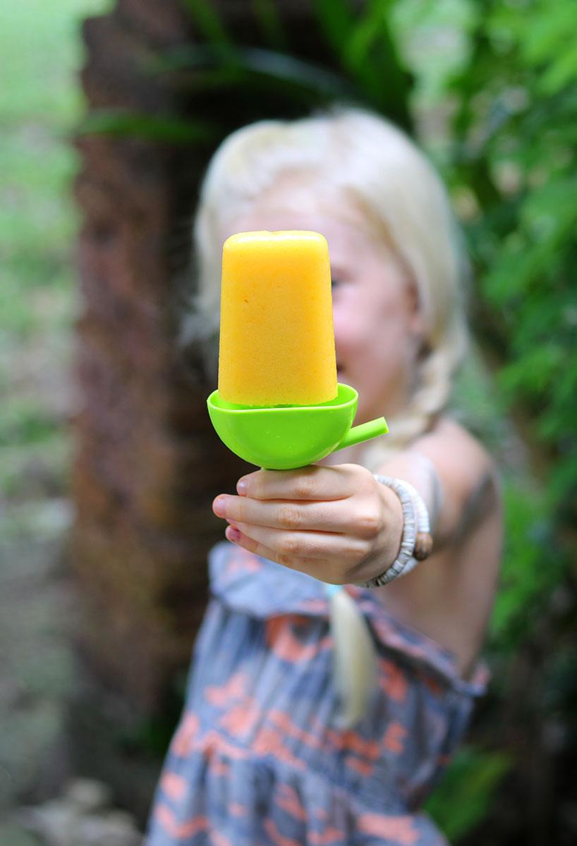 Fresh & Juicy Homemade Orange Popsicles (Vegan, Dairy-Free, Gluten-Free) | Tofobo Family
