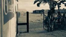 Empty Seaside Cabana