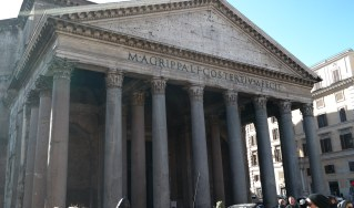 The Pantheon was undoubtedly one of the most magnificent and astounding buildings I've ever seen.