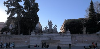 Then we somehow ended up in Piazza del Popolo ...