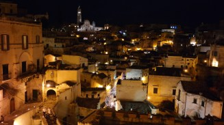 Matera by night: an entirely new world.
