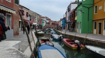 If you can ignore the hoards of tourists, Burano was one of the most picturesque places I've ever been.